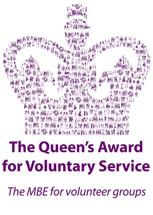 2018 Recipient of The Queen's award for Voluntary Service - The MBE for Volunteer Groups